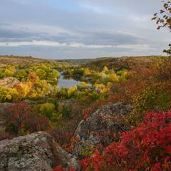 Теплі барви осені