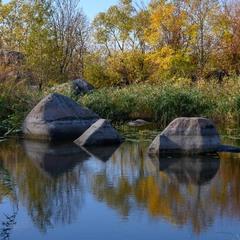 Камені та відображення
