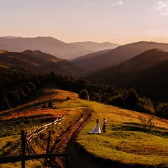 Свадьба в Карпатах