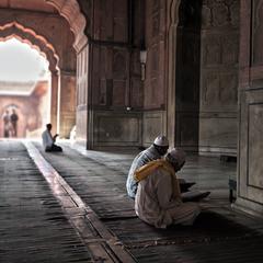 Правоверные, читающие Коран