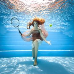 Большой подводный теннис