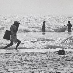 Пляжный фотограф