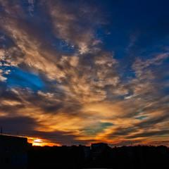 Рассвет из моего окна