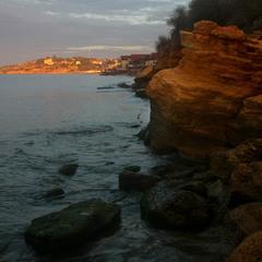 Берег моря...
