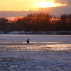Зимова риболовля.
