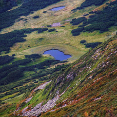 Озерце у горах