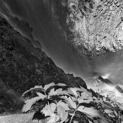 Водопад Женец. (Фрагмент).