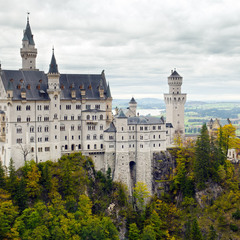 Сказочный замок Neuschwanstein