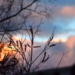 облака...