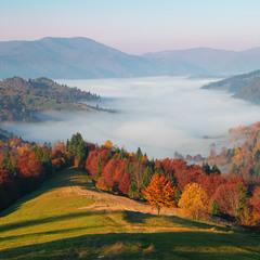 в Карпатах осінь