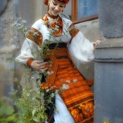 Львівська красуня Надійка!