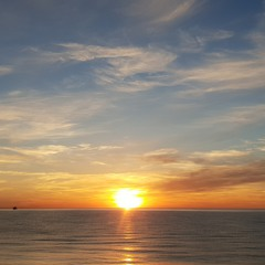 Море и закат...