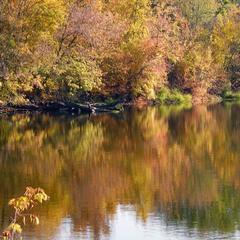 ...И вода заболела Осенью.