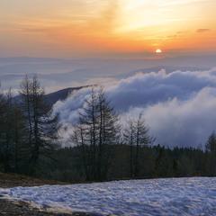Рассвет а Альпах