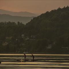 Озерная Австрия. Конец дня.