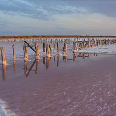 Сивашские розовые озера