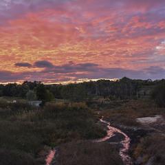Багряные реки или Закатные ландшафты