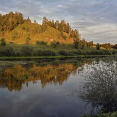 Река Случ, август