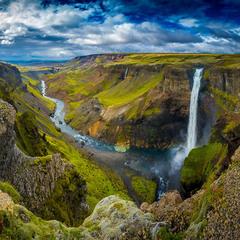 Затерянный каньон Исландии