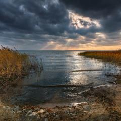Ненастье на Плещеевом озере
