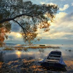 Осень на Плещеевом озере