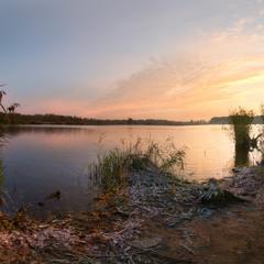 Осенний рассвет в Шатуре