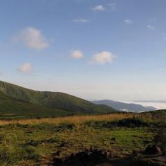 Утро вблизи Несамовитого (панорама)