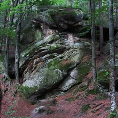 Зеленые камни Буковины