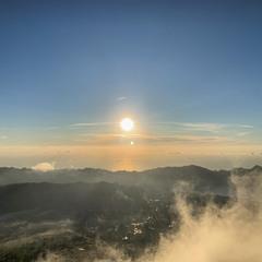 рассвет на Вулкане 1717м