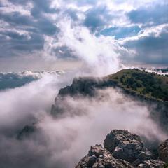 Туман на плато