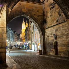 Улицами ночной Праги
