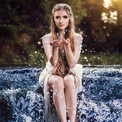 Капли водопада