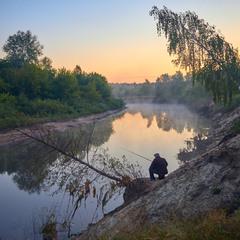 Рибалки на світанку...