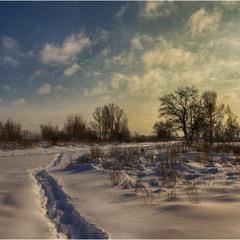 Чудесный зимний день...