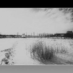 Черно-белая зима!