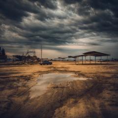 Азов,вечер,пляж:)