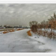 Всюду снег; кругом всё тихо...