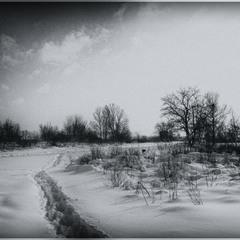 В Марте выпал снег...