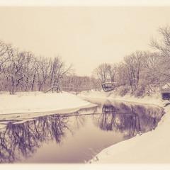 А просто выпал снег…