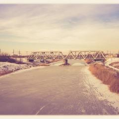 Зима на реке Волчья (Павлоград)...