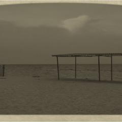 Пустынный пляж. Песчаный берег 2...