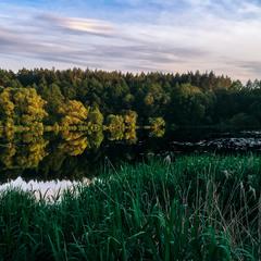 Через реку к закату