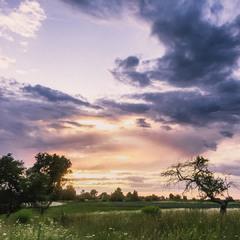 Небесный закат