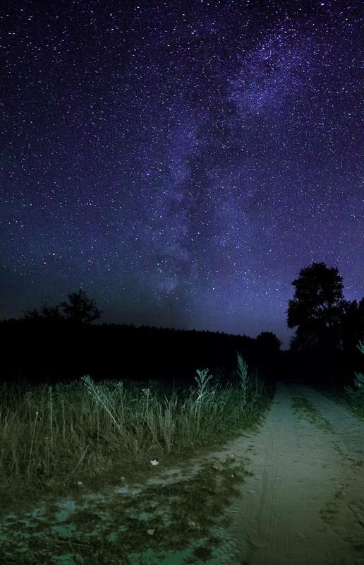 Фото ночного неба советы столе лежали