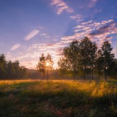 Будут вечно травы росные зори ясные встречать