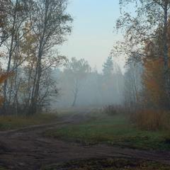 Предрассветная тишина, октябрь