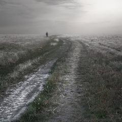 не пылит дорога
