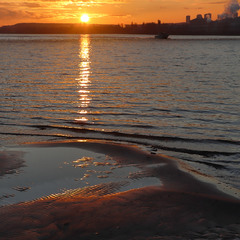 Сьогодні, допіру, на березі Дніпра в Києві було таке. Оце грудень так грудень видався сьогоріч!!