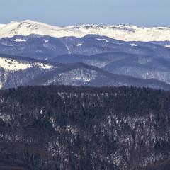 Гори близькі по духу й далекі бувають. А це – Вододільний хребет Карпат.