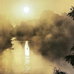 Сонце звелося (на ноги) в клаптях туману.